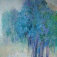 Woods in Blue